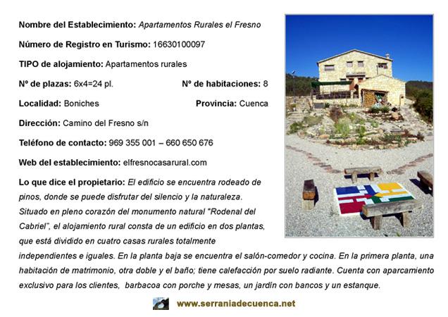 web apartamentos rurales el Fresno