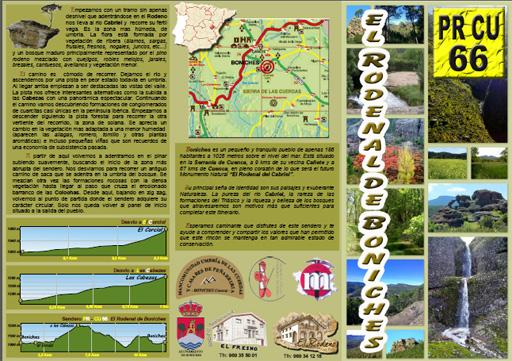 Descargar folleto PR CU-66 - El Rodenal de Boniches