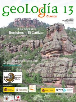 Folleto explicativo Geolodía nº 13 en Boniches